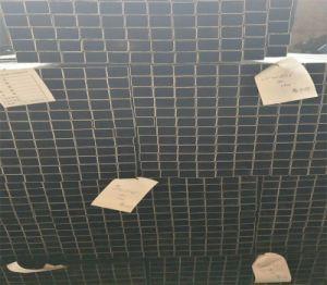 La Ronda de cuerpos huecos cuadrados / / Tubo de acero rectangular de metal