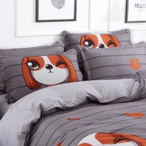 OEMの製造は漫画の寝室の寝具の一定のホーム織物を印刷した