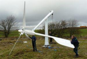 5kw Wind Power Plant pour la maison ou à usage agricole