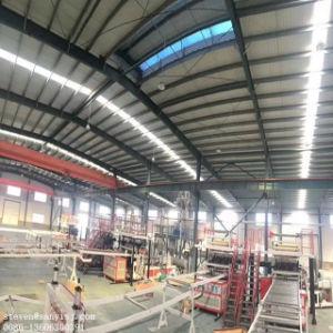 Plástico profissional SPC WPC piso de PVC de máquinas de extrusão de placa de linha de produção