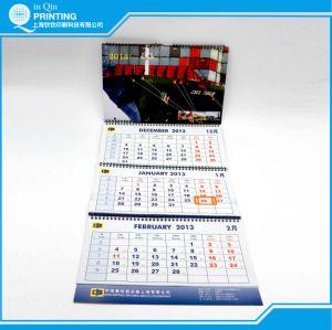 Heißes Verkaufs-Drucken-3-monatiger 2016 Wandkalender