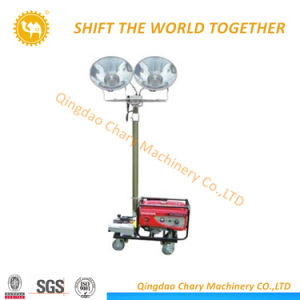 移動式軽いタワー、携帯用照明タワーの発電機