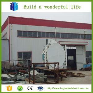 Estructura de acero prefabricados Taller Plan de Construcción China Proveedor