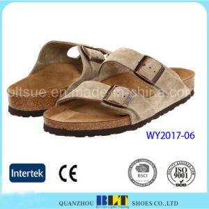De nouvelles chaussures Flip Flop en daim pantoufles
