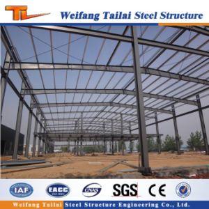 Structure en acier préfabriqués en métal de construction de l'entrepôt