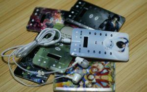 Индивидуальный логотип кредитной карты в формате MP3-плеер с экраном LED (OM-C106)