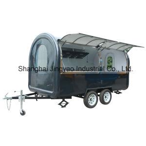 キャンピングカーヴァンの大きい食糧は移動式食糧トレーラーをトラックで運ぶ