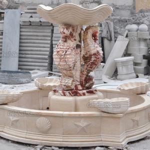 Jardim exterior de água moderno fonte de mármore para Park (GSF-516)