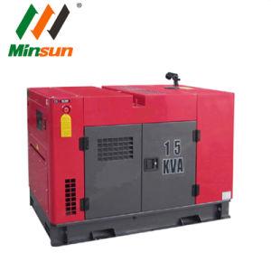 ホーム使用のためのATSの無声ディーゼル発電機ディーゼル15kVA
