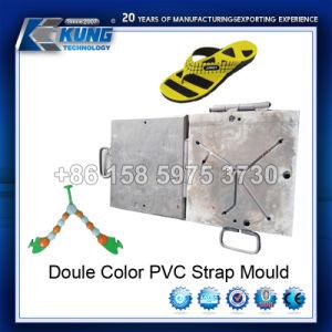 Molde de doble banda de PVC color