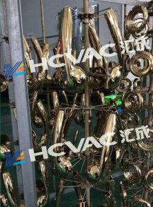 Torneira de banho Brassware/Chuveiro Gold Rosegold PVD Sistema de deposição de Vácuo