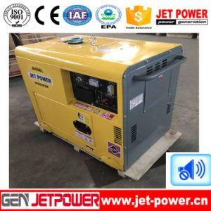 6kw 6kVA leise Hauptgebrauch-bewegliche Luft abgekühlter Dieselgenerator