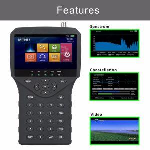 4.3  Ahd Tvi Cvi CCTV Camera Video Testerが付いているHD衛星TV Finder