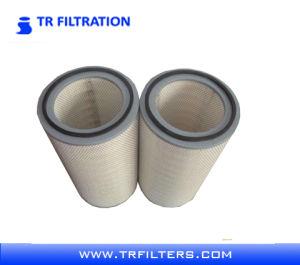 Cartucho de filtro plisado de la celulosa del compresor de aire