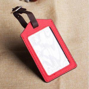 개인화된 싼 대량 수화물 꼬리표 도매 주문 실리콘 연약한 가죽 PVC 수화물 꼬리표