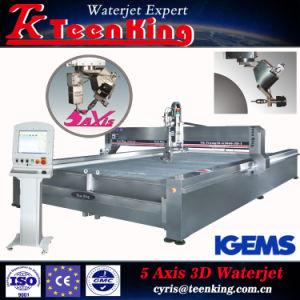 Grote CNC van de Grootte Schurende Waterjet Scherpe Machine voor Graniet en Metaal