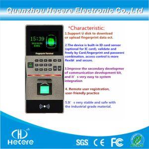 Sensor de scanner de impressões digitais biométrico Leitor RFID Leitor de Smart Card