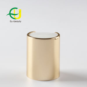 Or brillant Cosmétique 20/415 disque en aluminium Bouchon supérieur