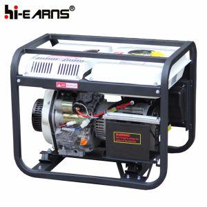 Tipo de bastidor abierto Air-Cooled solo cilindro Generador Diesel (DG2500E)
