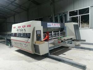 De Alta Velocidad automática de la impresión flexo engranan caja de cartón máquina
