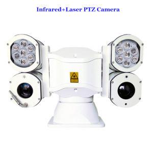 De Camera van de Politiewagen PTZ van het multifunctionele Dubbele Xenon en van de Thermische Weergave