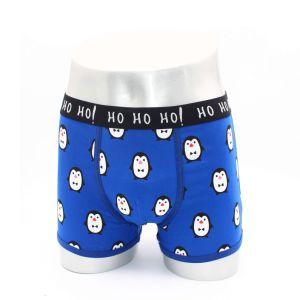 Shorts/biancheria intima, fascia elastica di corrispondenza di colore stridente di Constrasting, stampa del pugile degli uomini dell'acqua di alta qualità