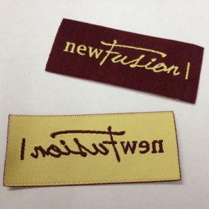 2,5 x 6,2 cm prenda personalizada etiqueta tejida