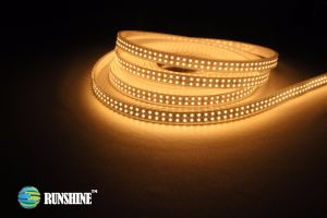 Fita LED flexível3528 SMD luz de espelho em 19,2W/M