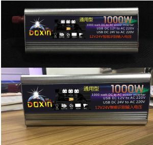 invertitore del sistema di energia solare di 300With500With600With800With1000With1200W 12V&24V