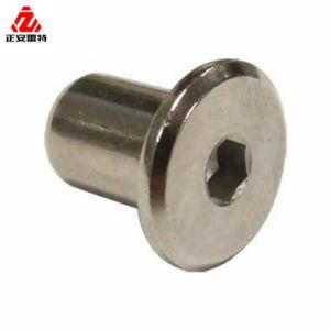 Inserción de nylon de acero al carbono DIN985 tuerca de bloqueo para el apoyo/para autos