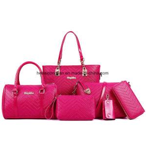 Sac à main clés cosmétique Wallet Travel Women's Lady sac fourre-tout ensemble