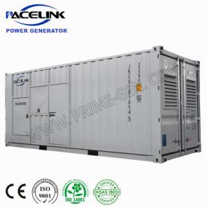 1250 ква на базе Cummins контейнерных Silent дизельных генераторах с 2000L встроенное топливного бака
