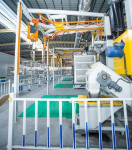 江蘇の製造業者の熱い販売の2つの送風車輪が付いている自動車部品のための標準特別なホックのタイプ砂吹き