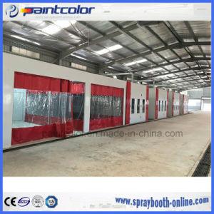 Vorbereitungs-Buchten für Lack-Aufdeckung-Geschäfts-Vorbereitungs-Station mit Auto-Lack-Kabine Paintcolor Paintbooth