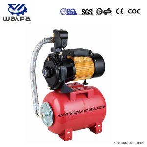 3 HP Twin rotors avec pompe centrifuge 24L réservoir sous pression