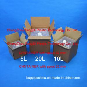 La pureza del agua desionizada Cubitainer 10L y 20L