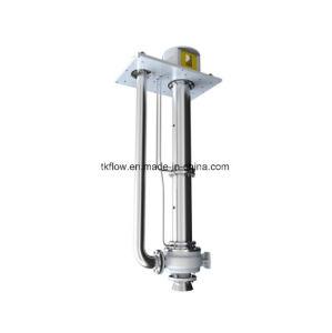 API 610 Vertical en acier inoxydable Petrochemica long arbre de turbine pompe à huile