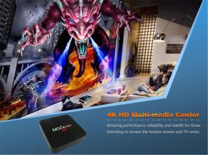 卸し売り人間の特徴をもつスマートなテレビの上ボックスMxq 4K完全なHDのビデオプレーヤーの例が付いているプロS905W1GB 8GB Ott TVボックス