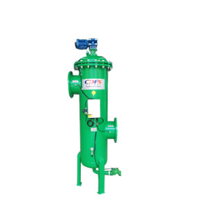 Корпус из нержавеющей стали Автоматическая Self-Cleaning водяной фильтр для очистки воды