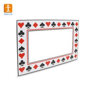 Hard Plastic Boardの上の3mm PVC Rigid Folding Stand