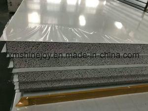 Structure en acier préfabriqués panneau sandwich polyuréthane pour chambre froide de bord