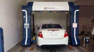 LED-Alarmsystems-Unfall-automatische Auto-Wäsche-Maschine mit Rad-Reinigung und trocknendem System S7