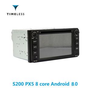 Timelesslong 인조 인간 8.0 S200 플래트홈 2DIN 자동차 라디오 DVD 플레이어 닛산 보편적인 오래된을%s/건축하는에서 Carplay (TID-W001)