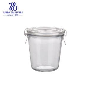 كتيمة زجاجيّة مرطبان مطبخ تخزين مرطبان [260مل] زجاجيّة تابل زجاجة ([غب21540260])
