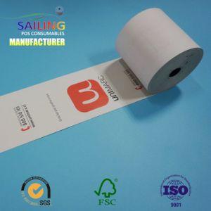 Papier thermique /Caisse enregistreuse pour ATM POS de rouleau