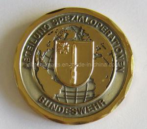 柔らかいエナメルの骨董品の倍の側面の米国の警官の昇進の挑戦硬貨(016)