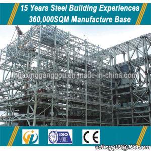 Entrega rápida Estructura de acero de soldadura prefabricados