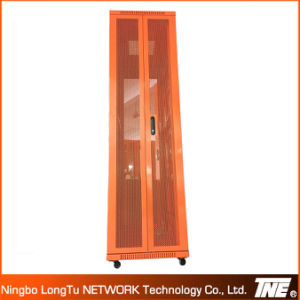 Красочные Bi-Fold Перфорированные двери серверных стоек