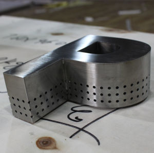 Roestvrij staal Letters voor Signs