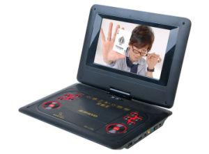 10.5  텔레비젼 조율사, 게임, USB, 카드 판독기 및 MP4 (PD-1101)를 가진 회전대 스크린 휴대용 DVD 플레이어